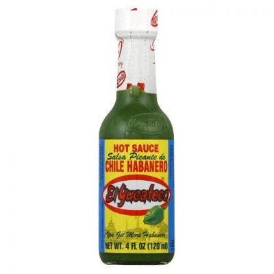 El Yucateco Green Chile Habanero Sauce 4 oz Bottle