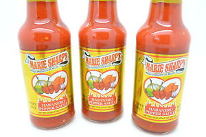 MArie Sharp Fiery Hot Habanero 3 Pack Bottles