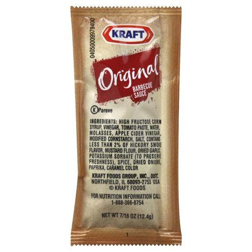 Kraft BBQ Sauce Packs