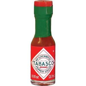 Tabasco Orignal Hot Mini Sauce Bottles