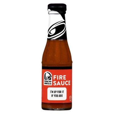 Taco Bell Fire Sauce