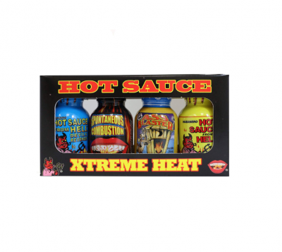 Ass Kickin Mini Xtreme Hot Sauce Bottles