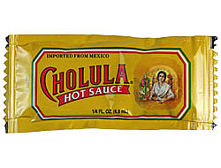 Cholula Hot Sauce Packets