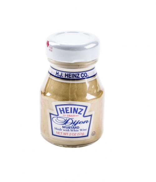 Heinz Dijon Mustard Mini Bottles