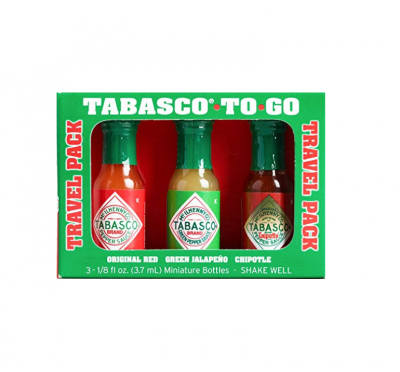 Tabasco Sauce To Go Bottles