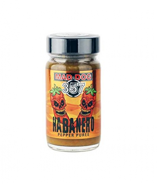 Mad Dog 357 Habanero Pepper Puree Bottle