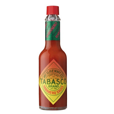 Tabasco Habanero Sauce Bottle Mini 2oz