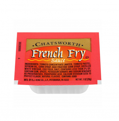 Chatsworth French Fry Sauce Cups Packets