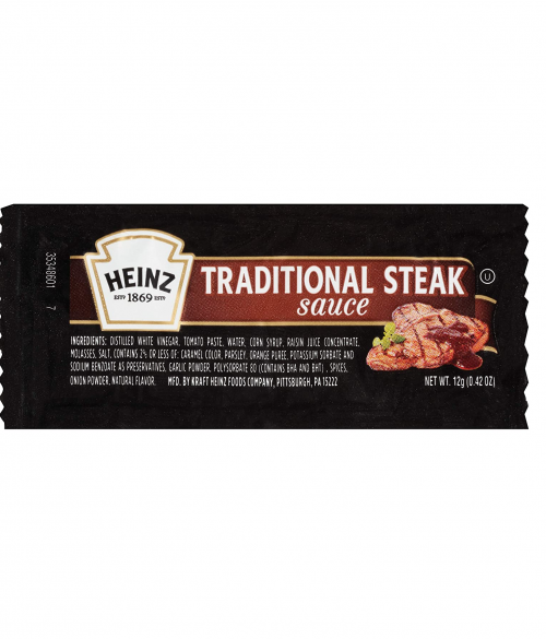 Heinz Steak Sauce Packets
