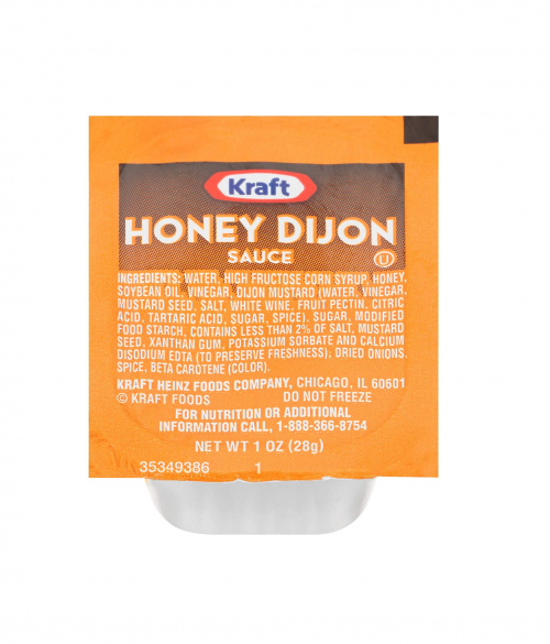 Kraft Honey Dijon Sauce Cup Packets