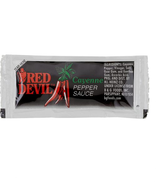 Red Devil Cayenne Pepper Sauce Packets