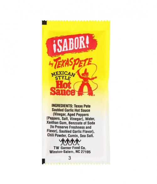 Texas Pete Hot Sauce Packets